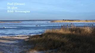 Die 20 größten deutschen Inseln (in 4 Minuten)