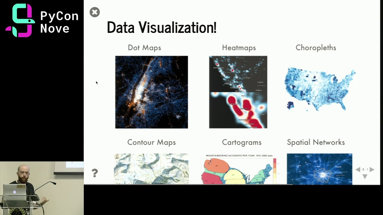 Image from Location, location, location: Data Visualisation and Analysis of Geospatial data in Python