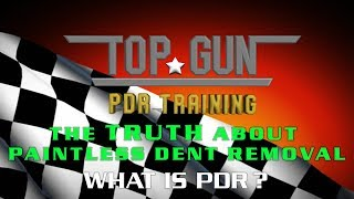 The TRUTH about Learning Paintless Dent Repair. #1 What is PDR?