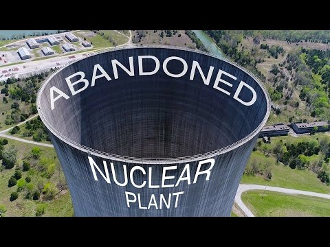 KEN HERON - Drone an ABANDONED Nuclear Power Plant  [4K]