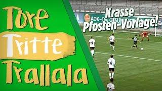 Pfosten-Vorlage bei Wolfsburg-Amateuren | Tore, Tritte, Trallala