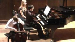 Bach — Sonata for cello and piano in G minor, BWV 1029