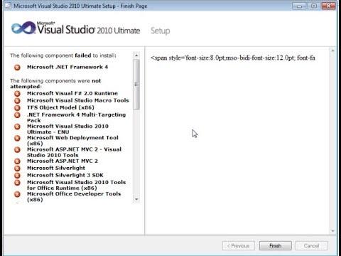 Cara Mengatasi Visual C++ Setup Failed