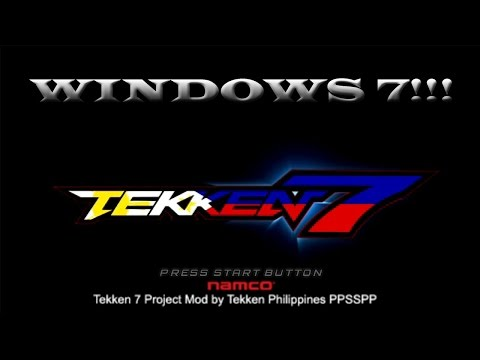 HOW TO PLAY TEKKEN 7 PROJECT MOD BY TEKKEN PHILIPPINES PPSSPP ON YOUR PC! YES VERY REAL!!!2017!