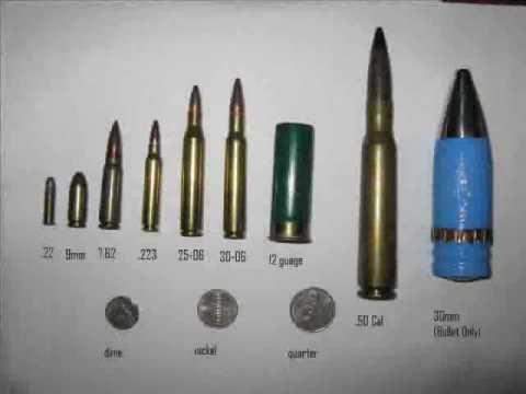 30mm Apache Bullet