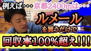 【競馬】予想に役立つデータを基に回収率100%超えを目指せ!!!