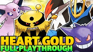 POKEMON HEART GOLD COMPLETE WALKTHROUGH - ALL OF JOHTO, KANTO, AND RED!