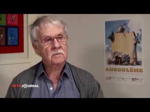 Ehrung des Comiczeichners Hermann Huppen - Comic-Festival Angoulême 2017