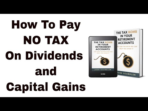 How to Pay No Tax on Dividends and Capital Gains