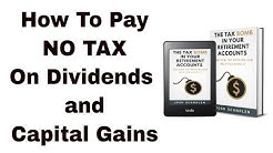 Worksheet Dividends Qualified Fillable Gains Capital And
