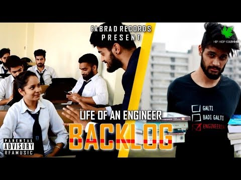 BACKLOG - Reality Of Indian Engineers | RFA | Hip Hop Kashmir