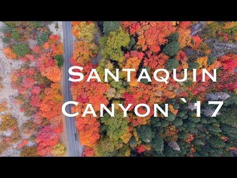 Fall Color In Santaquin Canyon Utah