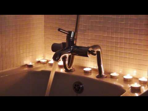 Stereo Bath Filling Sounds - 4 Different Mic Positions - For ASMR / Relaxation