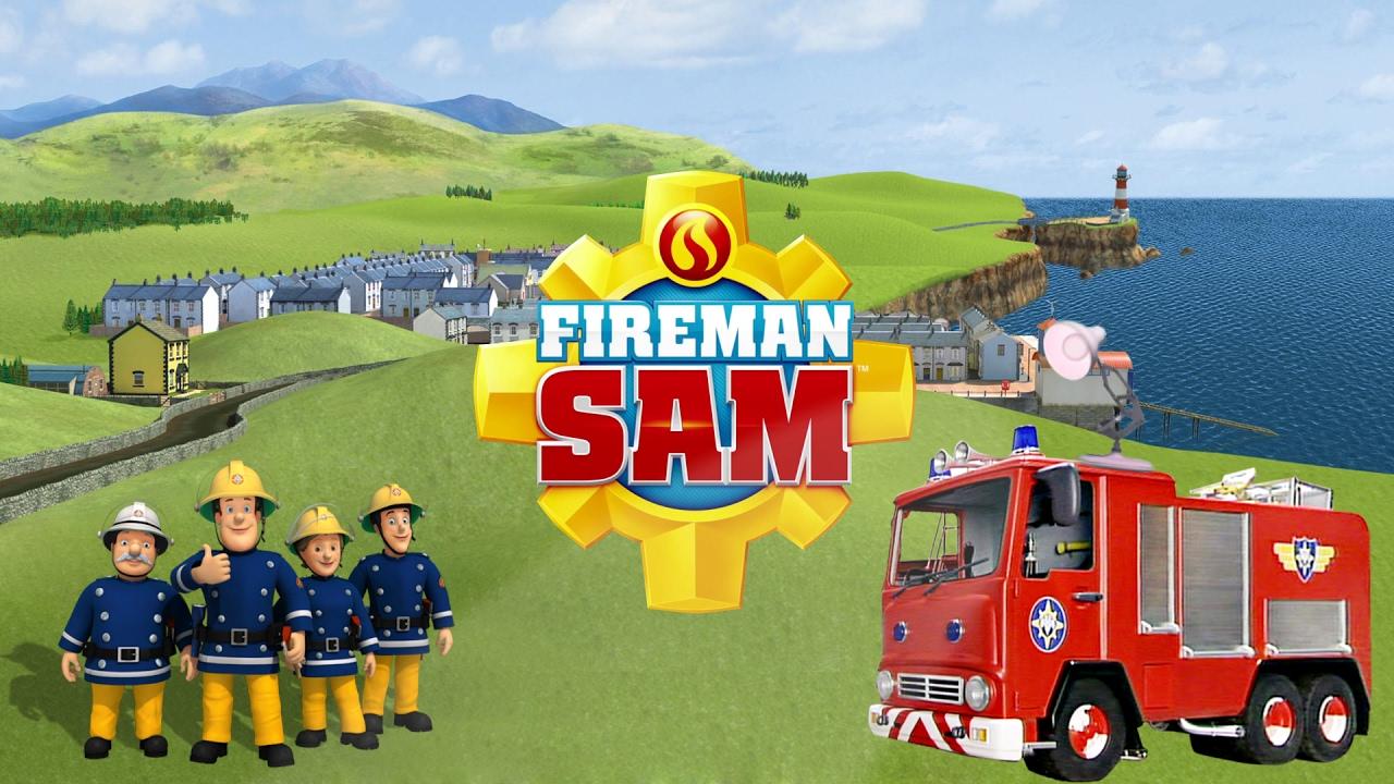 531 Fireman Sam Cbeebies Spoof Pixar Lamp Luxo Jr Logo
