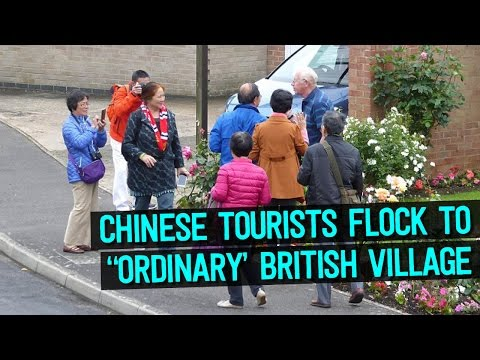 Chinese Tourists Flock to Tiny UK Village to Take Selfies and No One Knows Why
