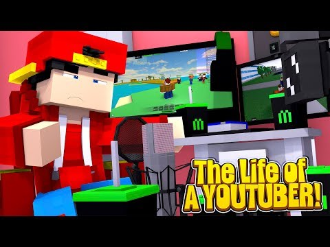 Minecraft LIFE OF - ROPO & JACK LIVE THE LIFE OF A YOUTUBER!!