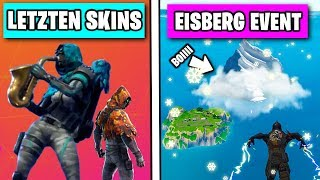 Iceberg EVENT ❄️🏔️ LAST New Skins - Dances Before Season 7 (fr) Fortnite Saison 6 Fuite allemand