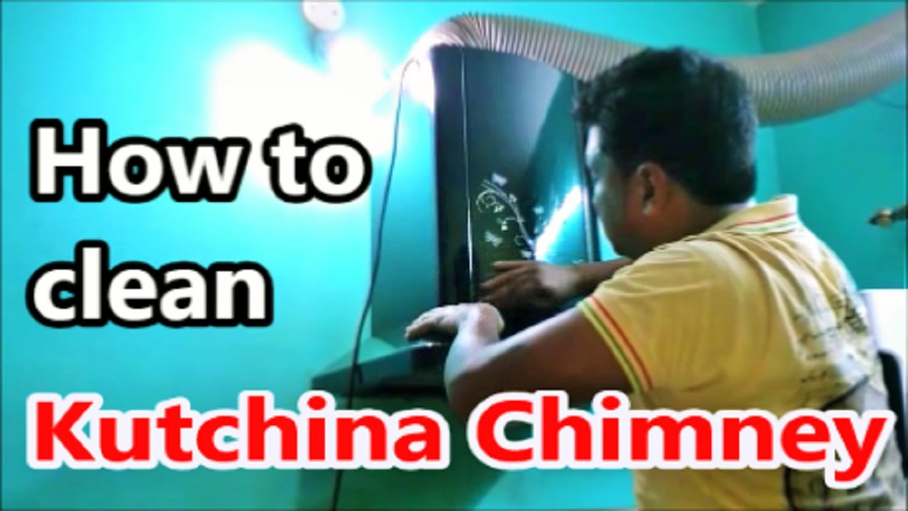 How to clean Auto Clean Kitchen Chimney at Home - YouTube