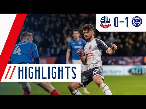 HIGHLIGHTS | Bolton Wanderers 1-0 Portsmouth