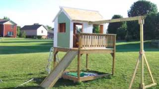 How To Build A Playhouse In Less Than 40 Seconds!!!