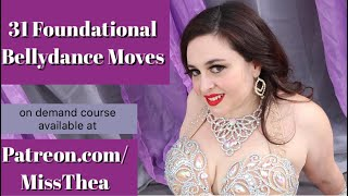 31 Foundational Bellydance Moves - promo