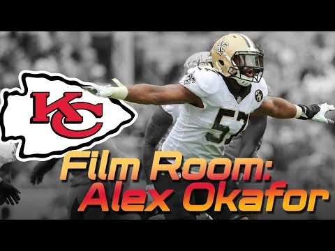 What can DE Alex Okafor do in Chiefs Spagnuolo Defense?  Film Room | Kansas City Chiefs 2019 NFL