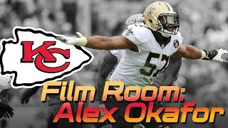 What can DE Alex Okafor do in Chiefs Spagnuolo Defense  Film Room  Kansas City Chiefs 2019 NFL