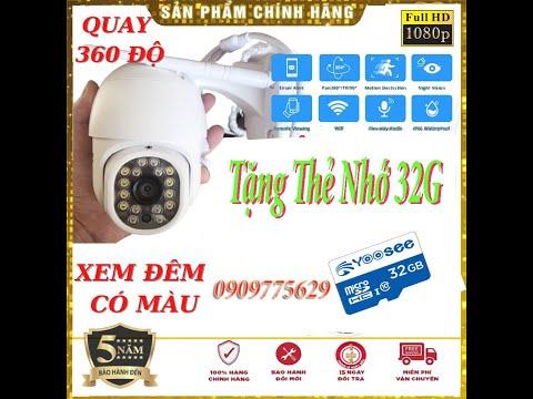 Hướng dẫn Cài đặt Camera IP Wifi Yoosee 16Led & Cách sử dụng trên Điện thoại, Chia Sẻ, Mô Hình 4G