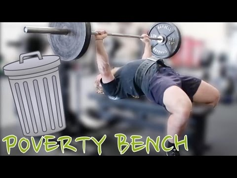 Increasing My Poverty Bench Press - Squat and Bench Press w/ Silent Mike