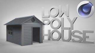 Model a Low Poly Minimalistic House / Cabin | Cinema 4D Tutorial(How is everyone! I hope you are excited for some modeling in Cinema 4D because that's what we will be doing today, We will basically going to model a loe ..., 2014-07-31T15:25:12.000Z)