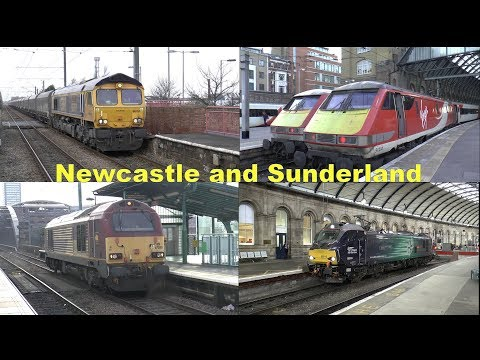 """Trip to NEWCASTLE & SUNDERLAND via Kings Cross"""