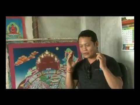 Cocktail: Education n career- Thanka painting with singer Urgen D Lama