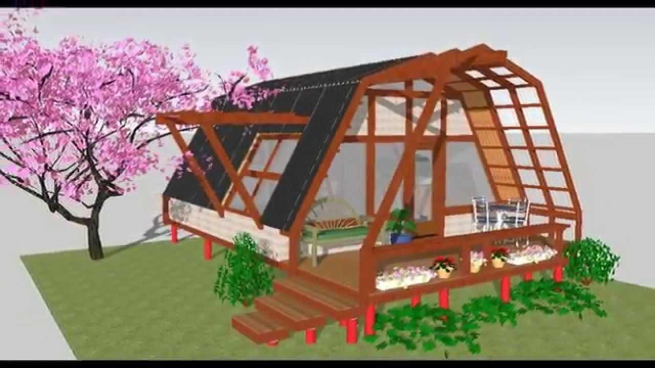 Patagonia sustentable casa de 36m2 econ mica y for Ideas para reformar una vivienda