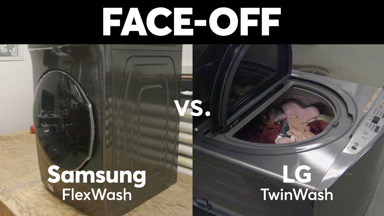 Face Off Samsung Flexwash Vs Lg Twinwash Consumer Reports