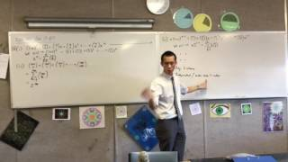 Red, Blue & White: Combinatorics HSC Question (1 of 2)