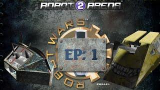 Flying Thor! Robot Arena 2 Robot Wars mod Part 1