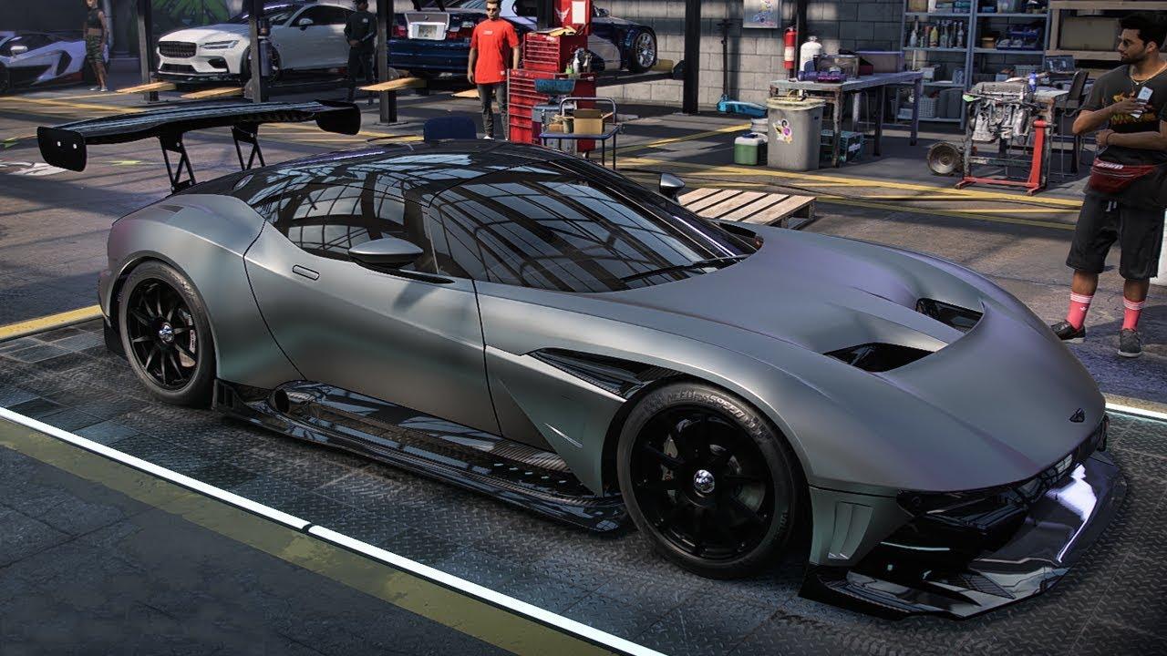 Nfs Heat Aston Martin Vulcan Customization And Gameplay Youtube