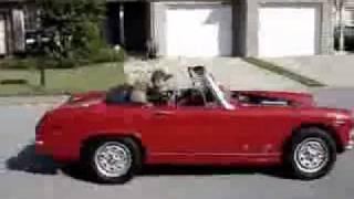 MG Midget Test Drive Movie