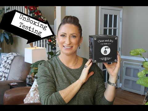 Unboxing | Test Out | Clean and Dry Brush Cleaning | Electri