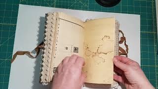 Junk Journal Flip Thru - Victorian Lady's Handbook