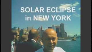 FILIPINO in NEW YORK and the SOLAR ECLIPSE