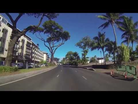 Tahiti GoPro Hero3 : Punaauia to Papeete & Papeete to Paea [HD] (Suction Cup)