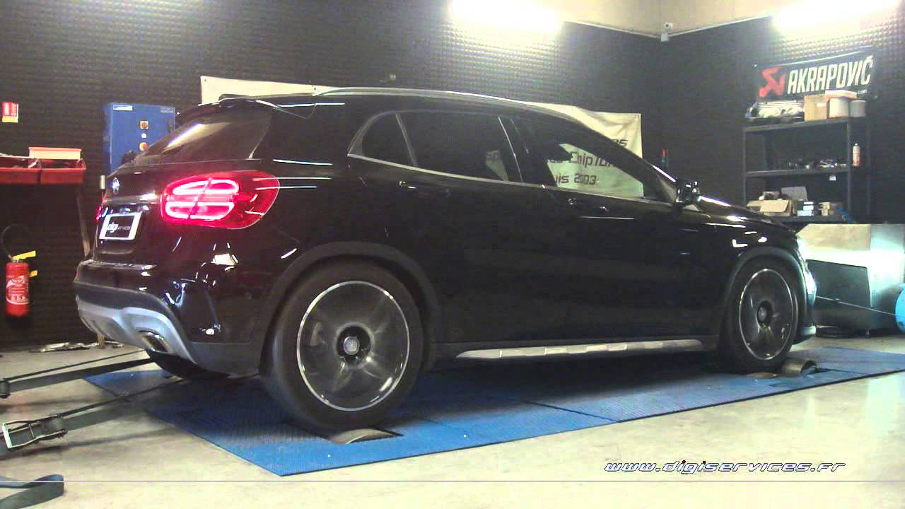 mercedes gla 220 cdi 170cv reprogrammation moteur 211cv digiservices paris 77 dyno youtube. Black Bedroom Furniture Sets. Home Design Ideas