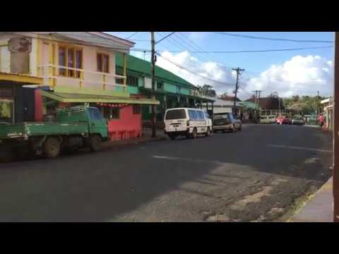 Walking the music filled streets of Vava'u Island | Tonga | South Pacific