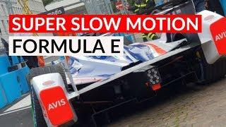 La Formula E vista in Super Slow Motion da Galaxy S9