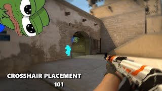 Crosshair Placement Tips - Aiming Just Became A LOT Easier ! | CS:GO