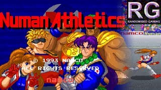Numan Athletics - Arcade - Intro & full playthrough / longplay [HD 1080p 60fps]