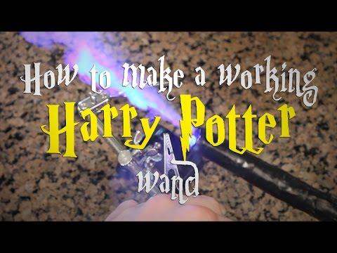 How to Make a Working Harry Potter Wand