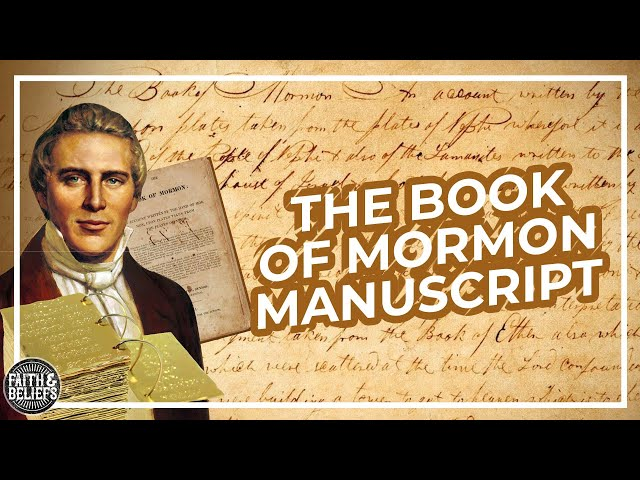 What does the original Book of Mormon manuscript reveal about its translation?