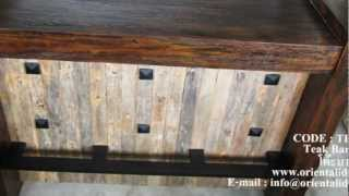 Teak Bar Table Code : Tbg-215
